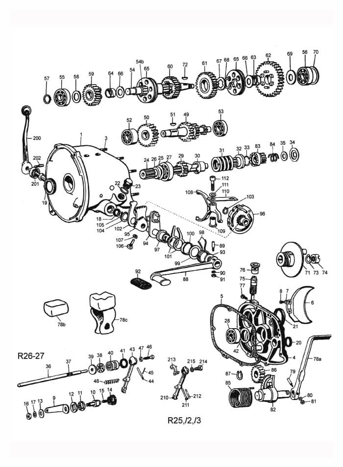 Bmw R100 Engine Diagram