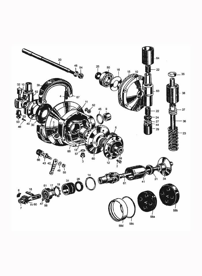 Dichtungssatz Motor groß für BMW R51//3 R67 R67//2 R67//3 komplett