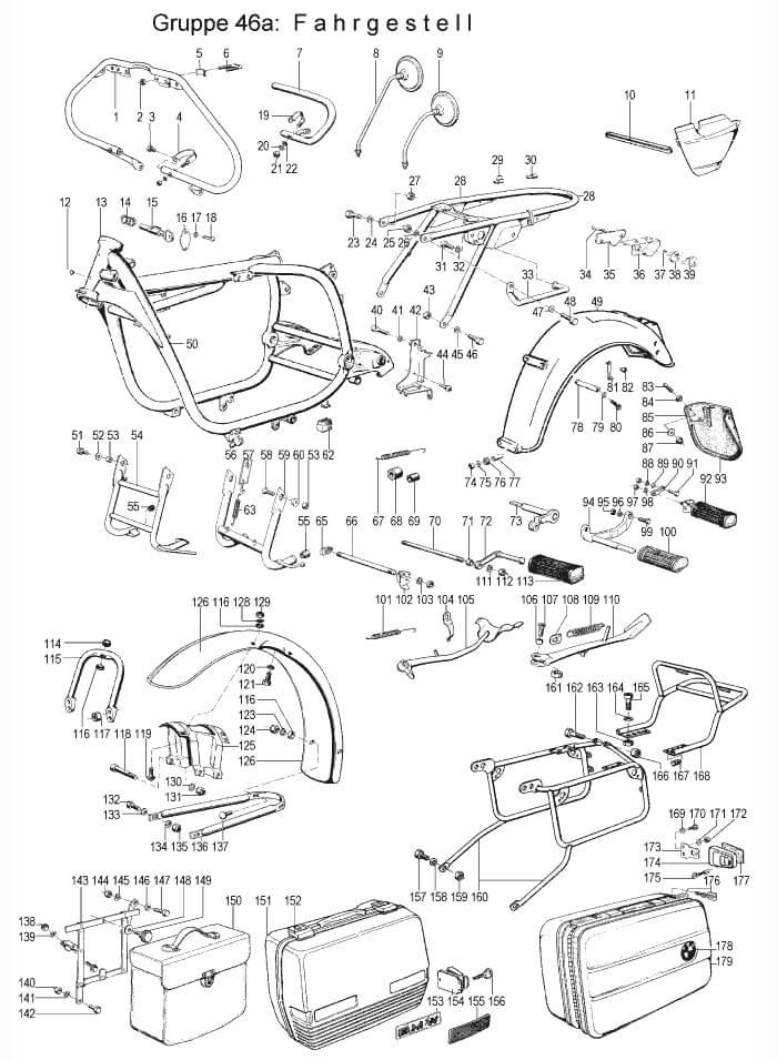 Parts R606 R607