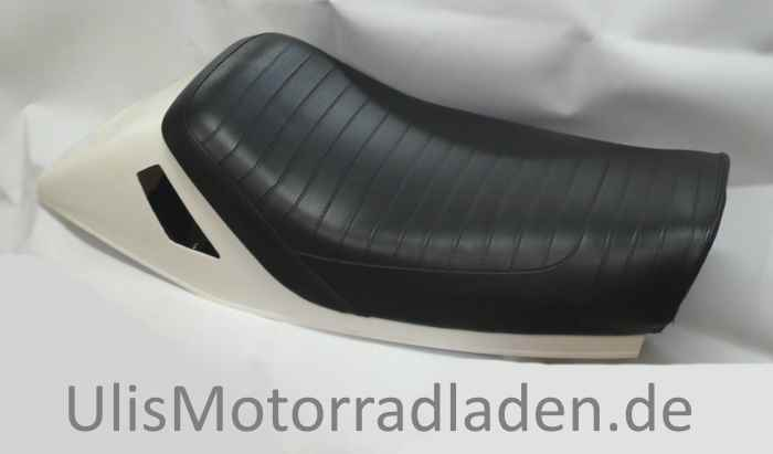 selle monoplace pour bmw r100rs noire avec partie arri re. Black Bedroom Furniture Sets. Home Design Ideas